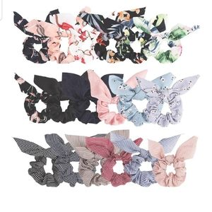 Brandy Melville Photo + Bow Knot 2 in 1 Scrunchies